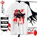 High-Q cartoon Akame Mine Leone Tatsumi Night Raid Tees T-Shirts tshirt Akame ga KILL! student breathable t-shirt tshirt tees