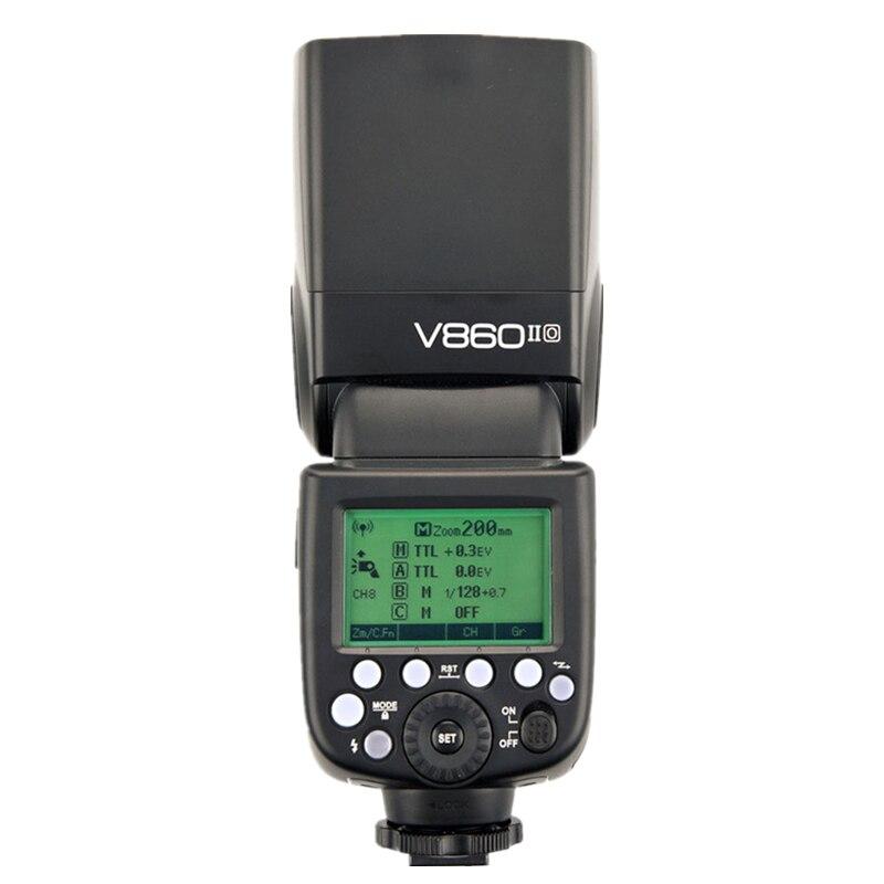Godox V860II O V860IIO 2.4G 1/8000 S GN60 TTL Flash Flash Flash Flash Flash pour Olympus Panasonic Lumix HSS 1/3000 1/20000