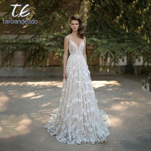 taroandeddo Wedding Dresses Cathedral Train Dress 2019