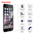 Esamday HD Explosion-proof Tempered Glass For iPhone X XS MAX XR 6 6S 7 8 Plus 6SPlus Screen Protector Film Case For 5 SE 5S