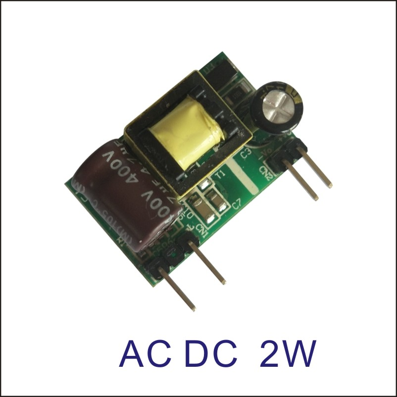 1pcs new mini ac dc switching power supply <font><b>220v</b></font> <font><b>to</b></font> 5v 12v <font><b>15v</b></font> 18v 24v 2W acdc power module converter small size image