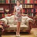 Chinese Qipao Clothes Women's  Cheongsam Qipao Short Dress Chinese Oriental Dresses Traditional Chinese Cheongsams