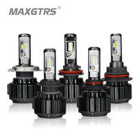 MAXGTRS CSP LED H4 H7 H11 H8 9005 9006 9012 HB3 HB4 80W 8000lm Car LED