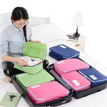 Women Waterproof Polyester Travel Duffle Bag Clothing Sorting Organize Travel Bag Hand Luggage Bag Clothes Luggage Organise