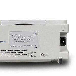 """Image 3 - Dds função de sinal gerador de forma de onda arbitrária hantek hdg2022b 2ch 20 mhz 250msa/s contador de freqüência gerner singnal usb 7 """"tft"""