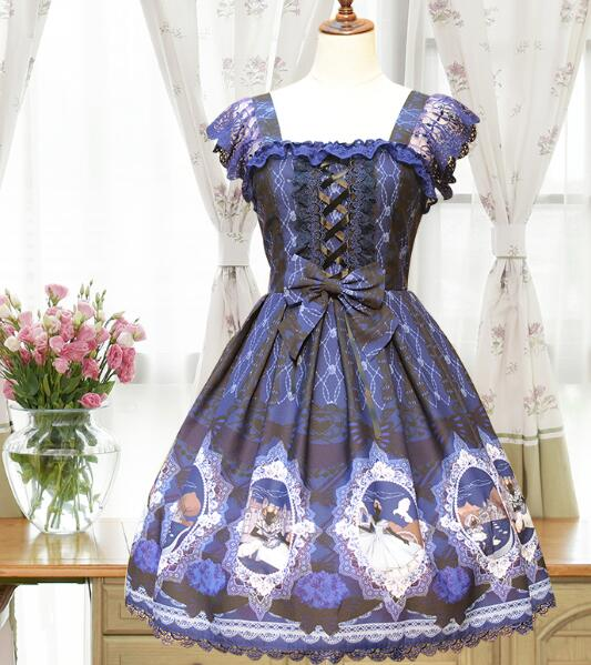 The new fairy tale JSK Alice lolita font b blouse b font dress little red riding