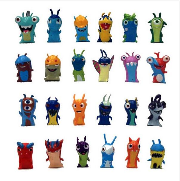 comprar unidslote cm lindo nueva pelcula de dibujos animados slugterra figuras juguetes muecas del pvc de regalo para nios