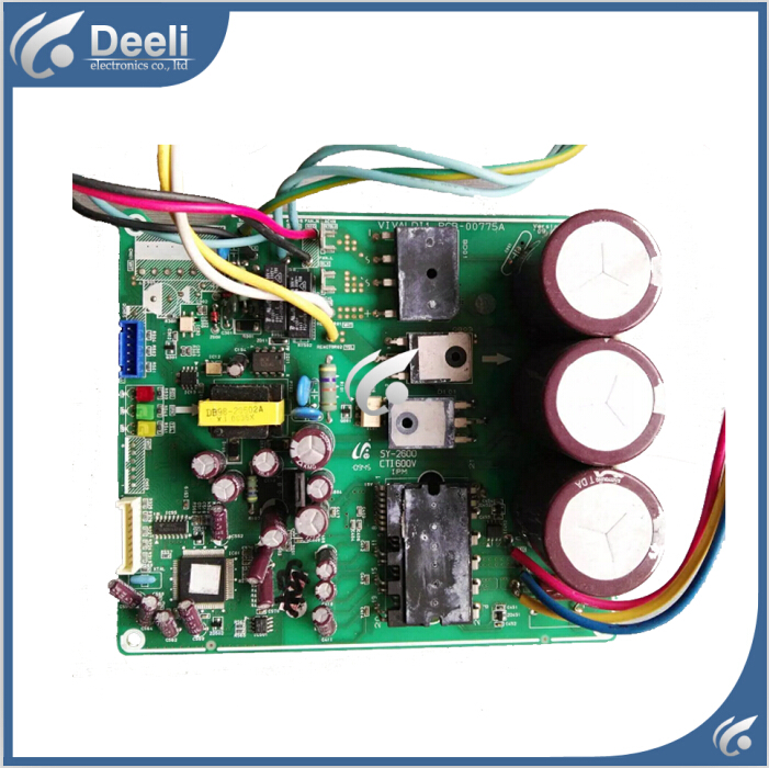 good working for Air conditioning computer board DB93-00856A DB93-07538D-LF PCB-00775A second-hand circuit board