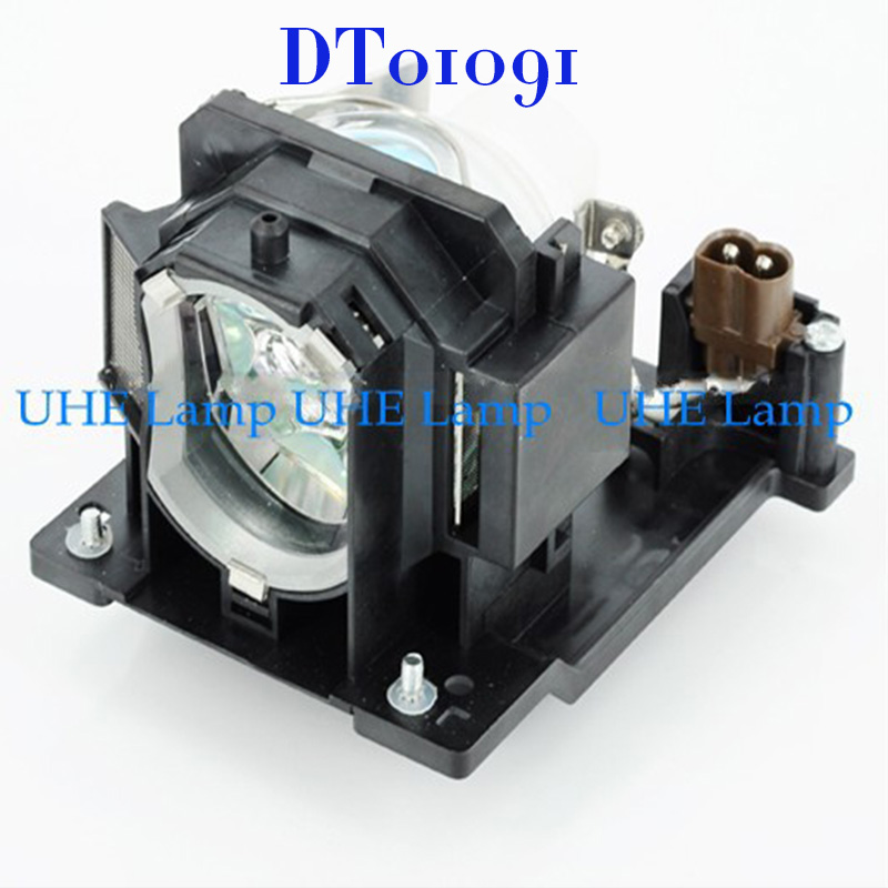 Free Shipping projector lamp DT01091 for Hitachi CP-D10/CP-DW10N/ED-D10N/ ED-D11N/ED-AW100N/ED-AW110N Projector free shipping dt00571 compatible projector lamp for use in hitachi cp x870 cp x870d projector happybate