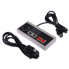Newest Game Controller Gamepad Joystick with 1.8m extend Cable for Nintendo NES Classic Edition Mini NES for Wii / NES console