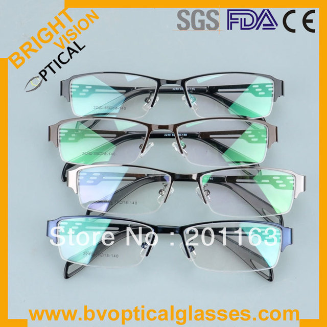 2240 Free shipping  new style  metal eye glasses frames for men RX optical frames prescription spectacles