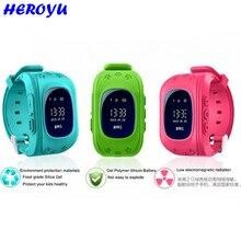 Smart watch Children Kid Wristwatch Q50 GSM GPRS GPS Locator Tracker Anti-Lost Smartwatch Child Guard for iOS Android vs Q80 q60