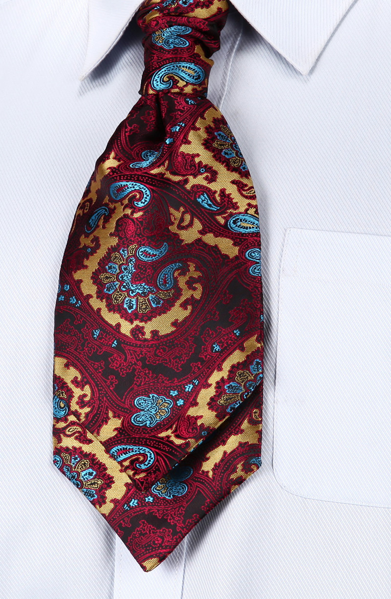 VE17 Burgundy Blue Paisley (4)