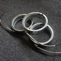 Ceramic Band Heaters Heating Element 470W AC220V 100x30mm Band Heater for Electrical Cabinet