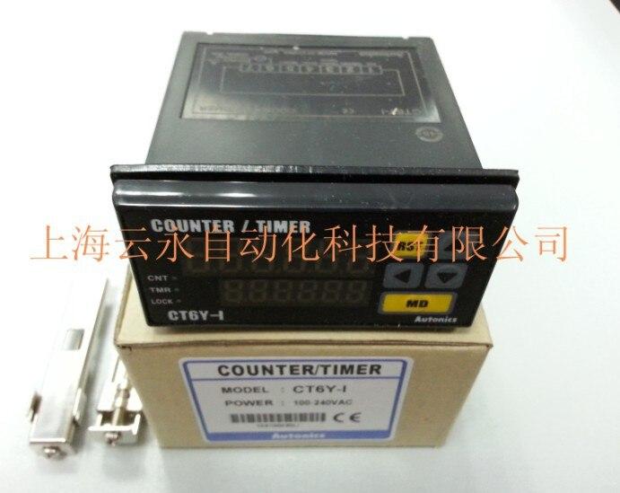 Original Novo Autêntica Autonics Temporizador Ct6y-i