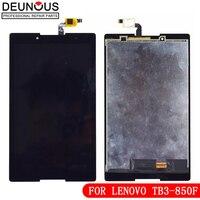 Novo 8 tabtabpara lenovo tab 3 tab3 8.0 Tab3-850 TB3-850M TB-850M 850 850f 850 tela de toque vidro display lcd painel digitador assembléia