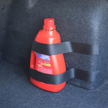 Hot Portable 1 Set Car Trunk Store Rapid Fire Extinguisher Holder Safety Strap Kit Accessories DXY88