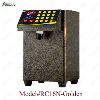 RC16 8L stainless steel commercial fructose quantitation machine for milk tea shop and coffee shop 2