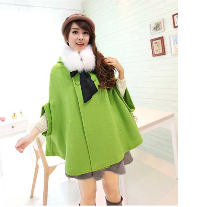 Online Get Cheap Ladies Long Cashmere Coats Fur Collar Woolen ...