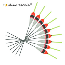 Topline Tackle Night Glowing Fishing Float Light Stick Floats Flutuador Bobbers For Carp