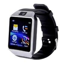 DZ09 Relógio inteligente de Pulso Digital com Homens Eletrônicos Bluetooth Cartão SIM Esporte Smartwatch Para iPhone Samsung Android Phone