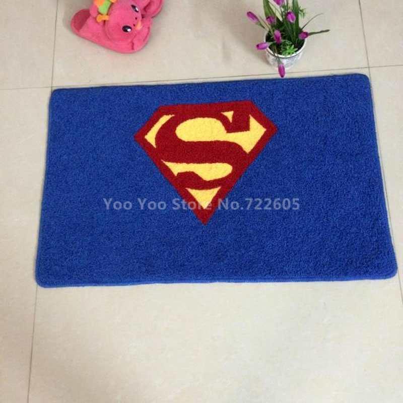 Aliexpress.com : Buy Superman Rug Super Hero Rug For Living Room/Bathroom/