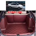 free shipping 5d full cover fiber leather waterproof car trunk mat for skoda octavia a7 2013 2014 2015 2016