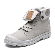 boots men canvas shoes spring men ankle boots casual shoes men botas  men shoes