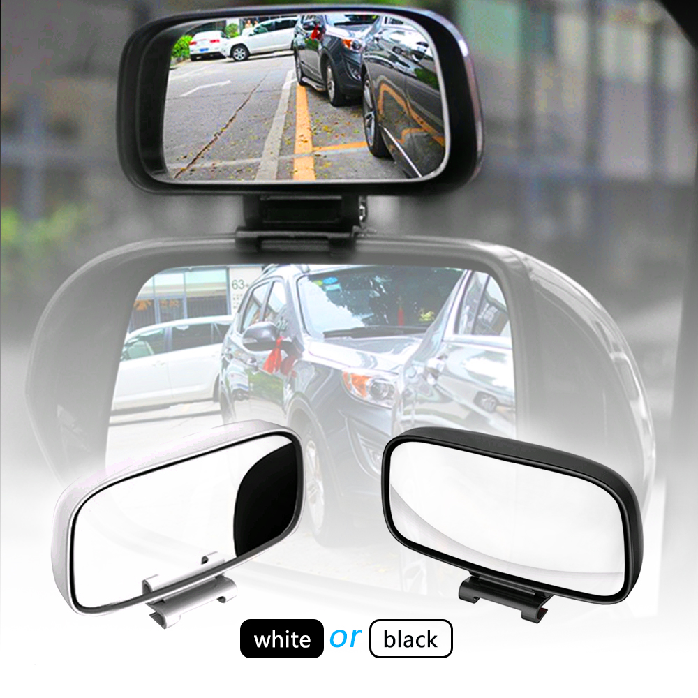 Car Accessories Dedicated Reversing Auxiliary Mirrors font b Exterior b font Adjustable Wide Angle Rearview Blind
