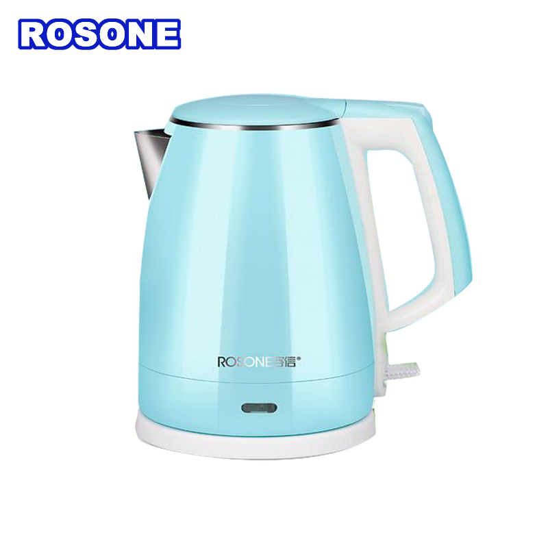 Electric kettle stainless steel household water bottle automatic shutdown anti - hot pot BH - 150A 1500W cukyi household electric multi function cooker 220v stainless steel colorful stew cook steam machine 5 in 1