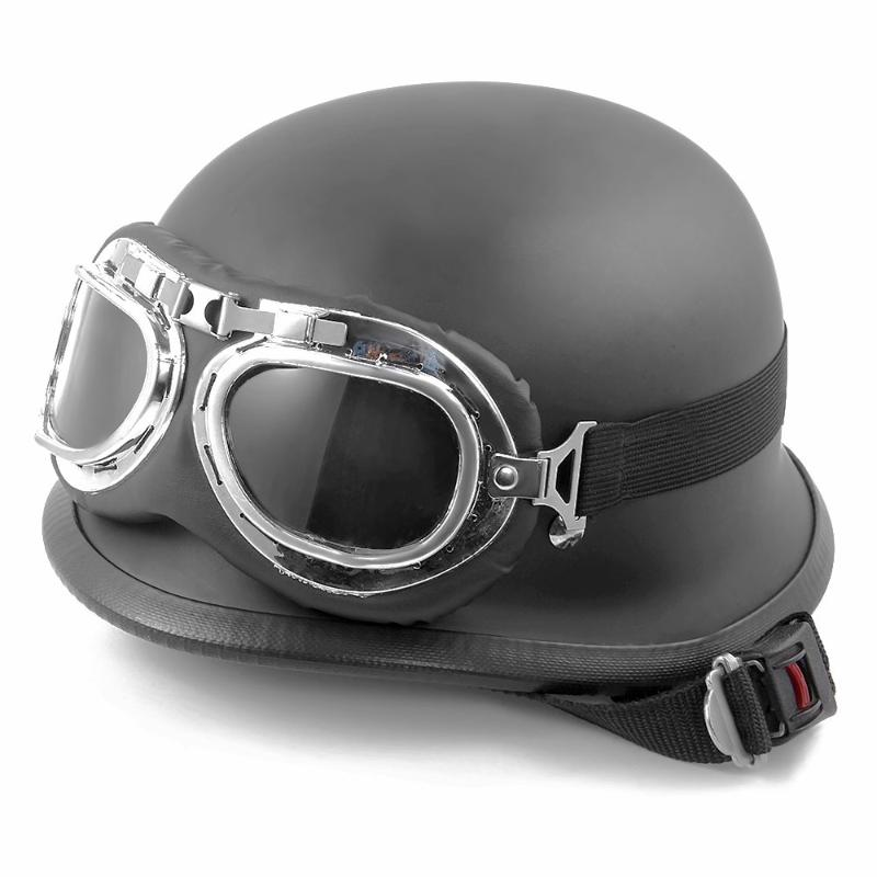 Aliexpress.com : Buy Leather Brown Motorcycle Goggles ...