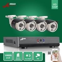 ANRAN 4CH HDMI 1080N AHD DVR HD Day Night 1800TVL 36IR IR Cut Waterproof Outdoor Security