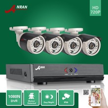 ANRAN 4CH HDMI 1080N AHD DVR HD Day Night 1800TVL 36IR IR-Cut Waterproof Outdoor Security Camera CCTV Home Surveillance System