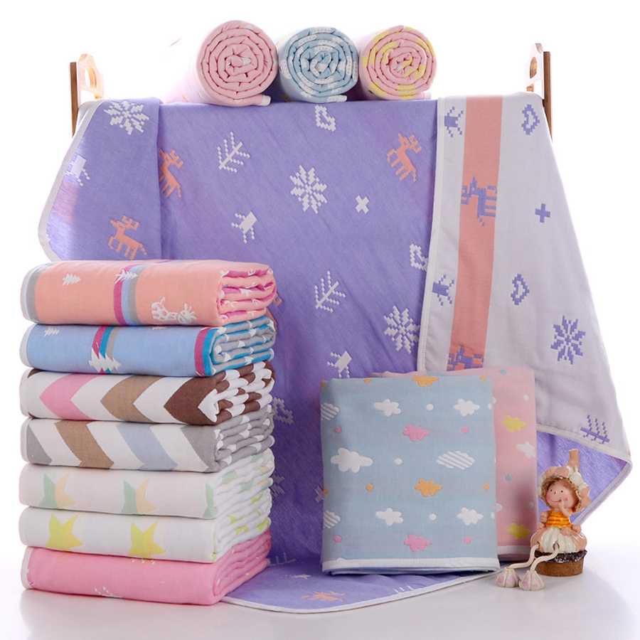 21 цвет 100% хлопок новорожденных-2 года старый Нрганические ?етские cobertor пехота Нрганические ?етские пелЄнки из муслина дешевые ѕеленальное Ндеяло