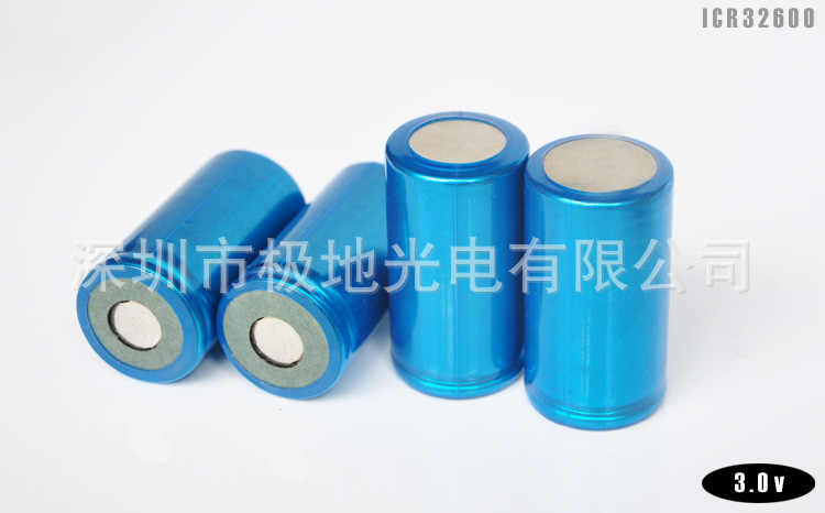 32600 Size 1/D LiFePO lithium iron phosphate 4000mAh 3.0V 10C-12C Rechargeable chargeable Battery for Power supply