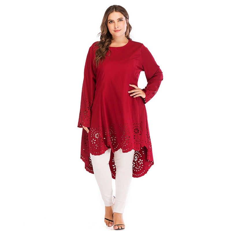 Кафтаны для женщин; большие размеры Vestidos 2019 красный арабский абайя Дубай Ислам Мусульманский хиджаб платье кафтан Elbise турецкий ic костюмы