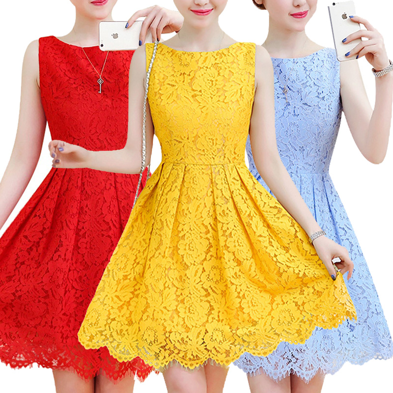 2019 Flower Girl Dress Summer Teen Girl Lace Dress For Attend Formal Wedding Party Dresses Girls Clothes Girl party costume