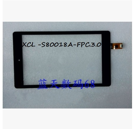 New XCL-S80018A-FPC.3.0 tablet capacitive touch screen free shipping
