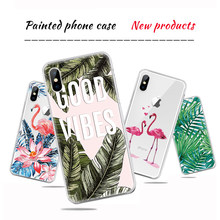 Colorful Pineapple Printed Clear TPU Case For iPhone X XS Max 7 8 6 6S Plus 5s 5 SE Patterned Soft Back Cover for iPhone XR 4 4s(China)