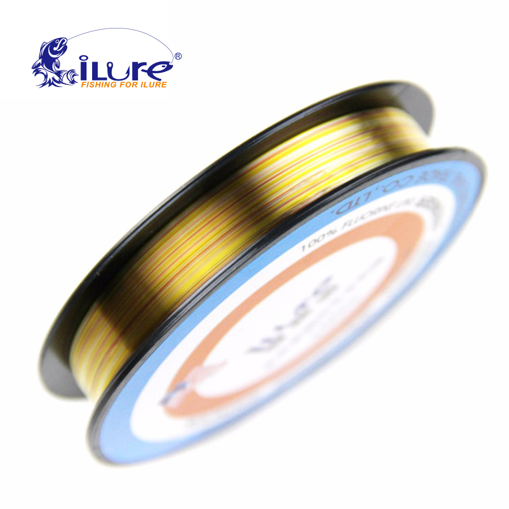 iLure Fluorine carbon Leader Carp Fishing Line 150 M Of Colorful Winter Pesca Super Smooth carbon fiber guide fly fishing line
