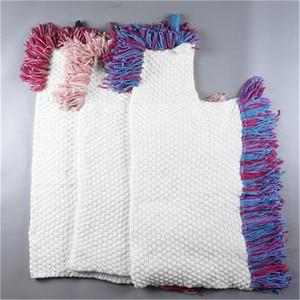Image 4 - Winter Unicorn Scarf Children Crochet Cotton Warm Shawl Scarf Set Boys Girls Fashion Cartoon Stole Pashmina Novelty Hat