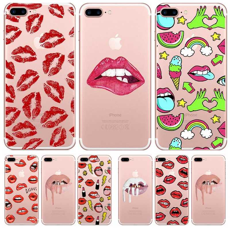 coque lips iphone 6