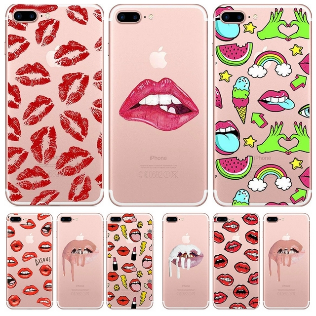 coque iphone 8 bouche