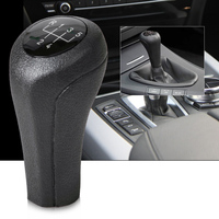 1pc New Black 5 Speed Manual MT Gear Stick Shift Knob For BMW 1 3 5