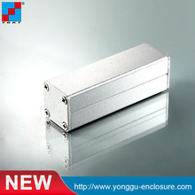 Aluminum extrusion enclosure power shell project case box 25*25-80mm(wxhxl) DIY NEW wholesale стоимость