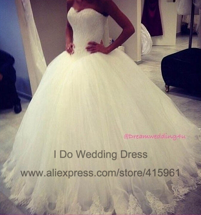 de351a531654a ZJ9014 2016 fashion Beads Crystal White Ivory Wedding Dresses for brides  plus size formal sweetheart 2 4 6 8 10 12 14 16 18 20-in Wedding Dresses  from ...