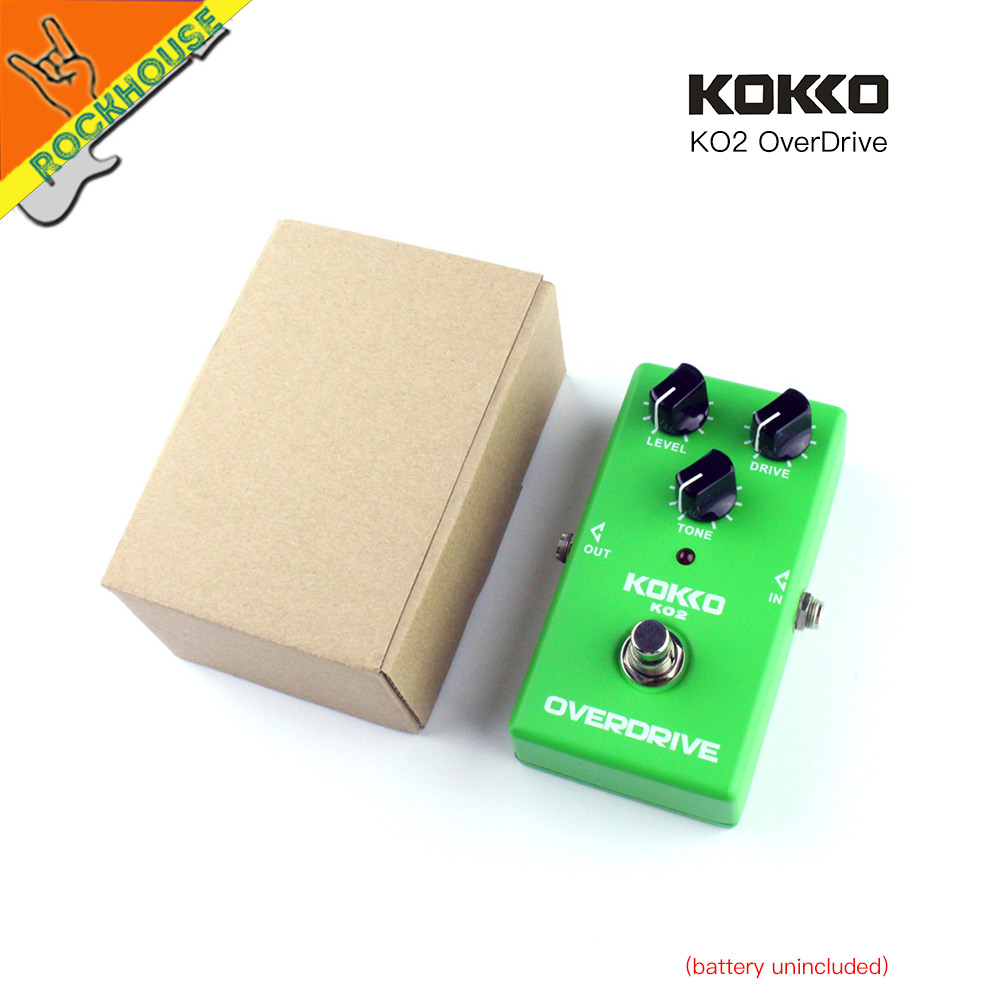 KOKKO Vintage Tube Overdrive Guitar Effects pedal Analog Overdrive Guitarra Pedal High Gain Booster True Bypass Free Shipping mooer ensemble queen bass chorus effect pedal mini guitar effects true bypass with free connector and footswitch topper