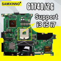 N56VM Laptop motherboard GT740/2G for ASUS N56VZ N56VB N56VvV N56VJ N56VM Test mainboard N56VM motherboard test 100% ok