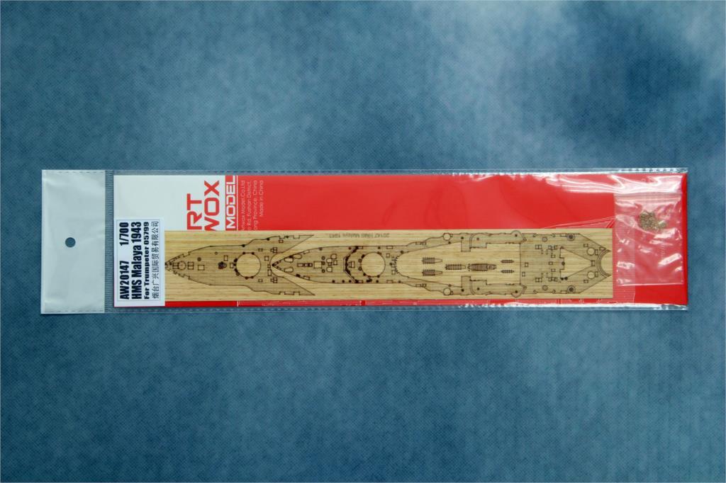 ARTWOX 05799 Yingmalaiya Trumpeter battleship 1943 wooden deck AW20147