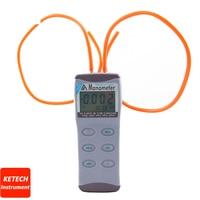 AZ8205 5psi Gas Manometer Pressure Meter RS232 Signal output